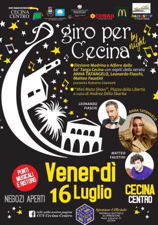 A giro per Cecina by night