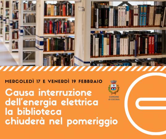biblioteca cecina
