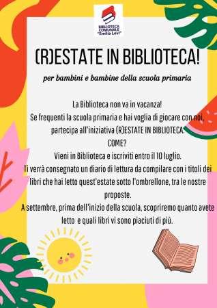 (R)estate in biblioteca