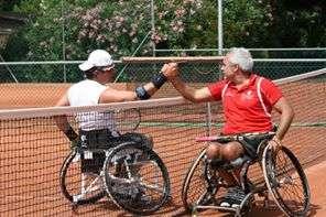 Torneo tennis in carrozzina