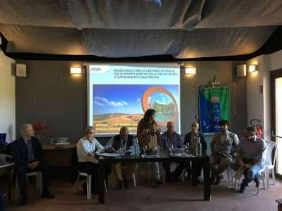 La presentazione del piano di investimenti Asa per la Val di Cecina