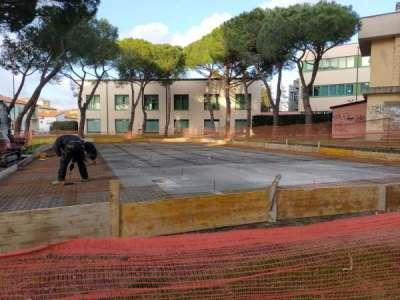 Campo da basket via Napoli: la via la riqualificazione