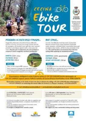Cecina Ebike tour: pedalando in Costa degli Etruschi
