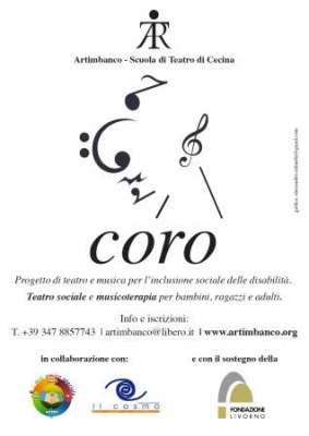 Locandina progetto Coro