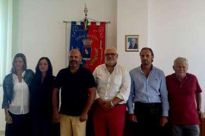 foto di gruppo da sx Barzi-Giannini-Lippi-Salvini-Cartei e Biasci