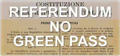 Referendum No Green Pass
