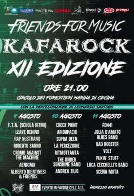 Kafarock locandina