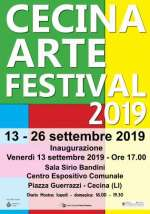 Locandina Cecina Arte Festival