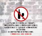 Limitazioni in merito alla vendita, somministrazione e consumo di alcolici, superalcolici e qualsiasi altro genere di bevande in contenitori di vetro e non