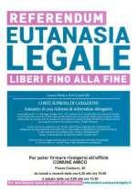 Referendum Eutanasia Legale - liberi fino alla fine