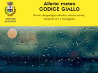 Allerta meteo per temporali forti, vento e mareggiate per Domenica 1 Agosto