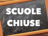 Avviso scuole chiuse