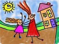 Asilo bambini (immagine d'archivio)