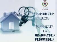 Bando Erp 2020: pubblicata la graduatoria provvisoria