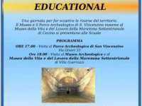 Locandina Educational 18 agosto