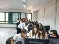 Gli studenti del liceo Fermi coinvolti nel progetto Pon Giornalino