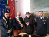 Da sinistra: Daniele, il sindaco Lippi, Papale e Bottacci