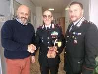 Sindaco Lippi, comandante Buscia e comandante Bottacci