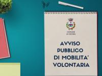 Pubblicato un avviso di mobilità volontaria a tempo pieno e indeterminato