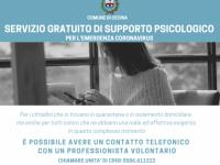 Servizio di supporto psicologico gratuito