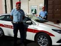 Auto ibrida per la Polizia Municipale