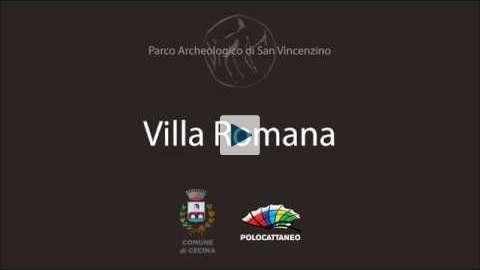 Il video 3d che ricostruisce la Villa Romana di San Vincenzino